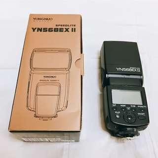永諾 YN-568 EX II 閃光燈 離機閃光燈  適用Canon佳能