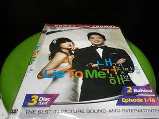 KASET DVD KDRAMA - LIE TO ME