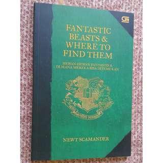 Jual buku terjemahan Fantastic Beast and Where to Find Them by J.K Rowling