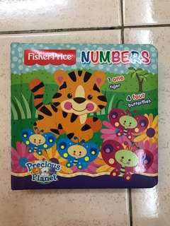 Fisher-Price Board Book Numbers