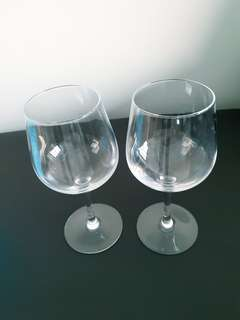 Wine glasses 2 pcs large size from ikea