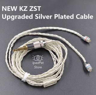 [BN] KZ Advanced Silver Plated Cables Kevlar