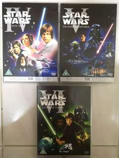 STAR WARS DVD DIGITALLY REMASTERED