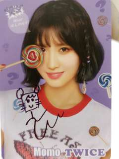 TWICE MOMO WHAT IS LOVE? 彩簽
