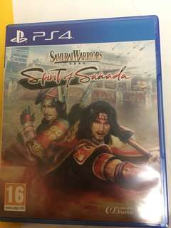 Samurai Warrior : Spirit Of Sanada(PS4)