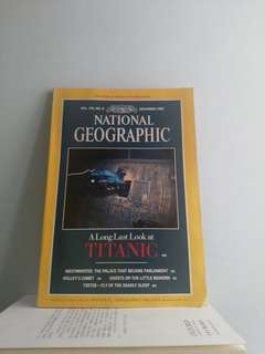 *絕版* Vintage National Geographic magazines (1980's & 2013)