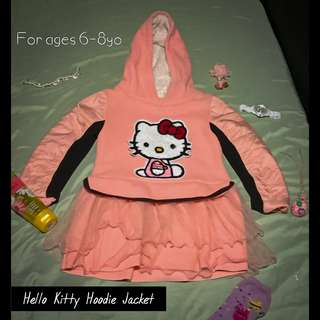 Hello kitty hoodie jacket for kids
