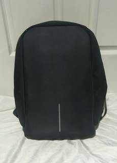 Original anti theft backpack (black) (like new condition)
