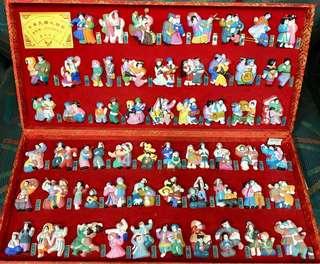 中華民族大聯歡節日人物介紹圖56款一盒