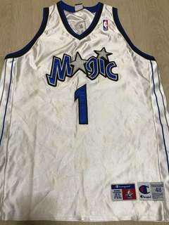 Tracy McGrady T-Mac NBA jersey Magic Champion 48
