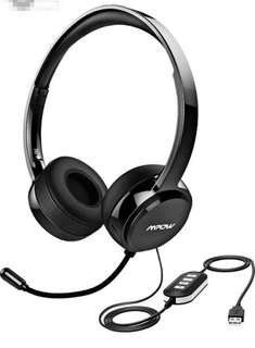 (503) Mpow 071 USB Headset/3.5mm Computer Headset with Microphone Noise Cancelling