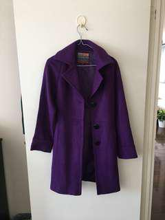 Purple Coat - M