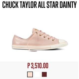 REPRICED Chuck Taylor All Star Dainty