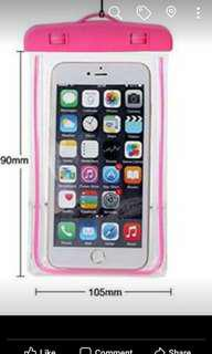 Universal Waterproof Glow Dark Case OF Mobile Phone pouch