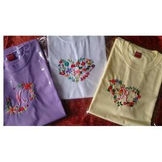 Hand Embroidered Shirts