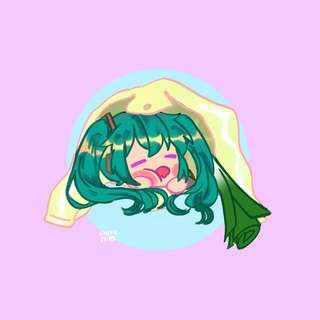 🚚 Hatsune Miku sticker