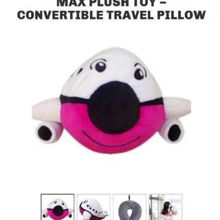(New) Changi Airport T4 Max Plush Toy Convertible Neck Pillow