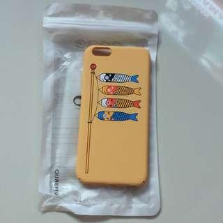 🌻BRANDNEW🌻 Iphone 6s Japanese Style 🎏 Yellow Matte Hard Case