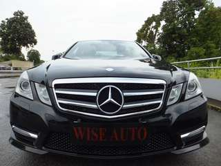 MERCEDES BENZ E 250 BLUEEFFICIENCY (HID)