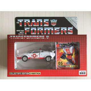 Transformer Takara Reissue TF-05 Red Alert
