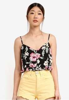 Baju pantai, baju bali, tank top, floral top