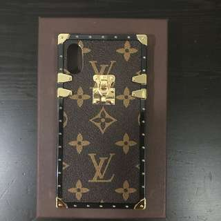 Louis Vuttion iPhone X case