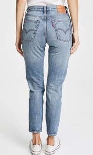 Levi's wedgie Jeans / size 24