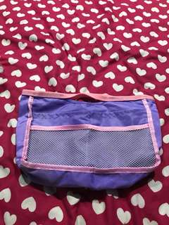 #Blessing purple small lunch hand bag NEW