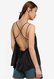 Backless top,  baju pantai, sexy top