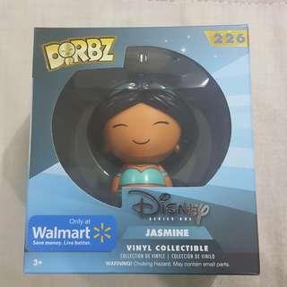 Legit Brand New With Box Funko Dorbz Disney Series One Jasmine Toy Figure Walmart Exclusive