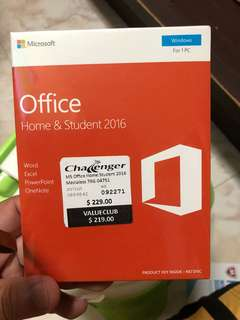 Microsoft Office Home & Student 2016 for 1PC