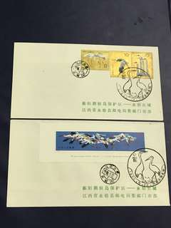 China Stamp- 1986 T110 2 special cover