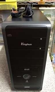 Kinghun電腦機箱98%新(只限葵芳地鐵站或青衣美景花園交收