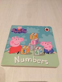 Peppa Pig Numbers Book
