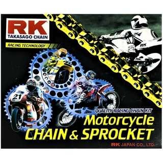 RK Takasago Chain - Motorcycle Chain & Sprocket (Yamaha I CES Auto)