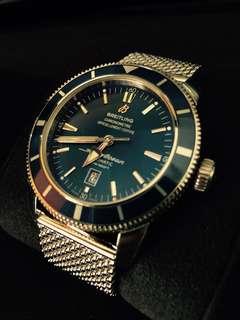 全新 購自瑞士 百年靈 Breitling superocean heritage 46 名錶