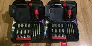 Flashlight with tool box