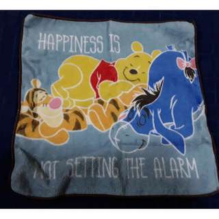 Winnie the pooh 40th anniversary lucky draw face towel