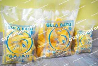 Gula Batu Cakar Kuning 500gr