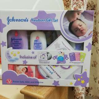 Johnson Baby gift set