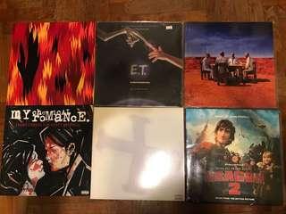 Selling various vinyl LPs
