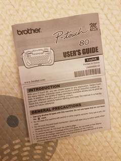 🚚 Label Printer - BROTHER P-Touch 80
