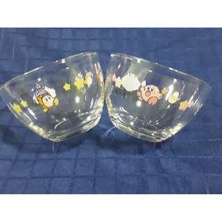 Kuji Kirby ice cream glass bowl