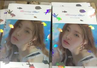 [Preorder] CHUNG HA 3rd Mini Album - Blooming Blue CD + Poster