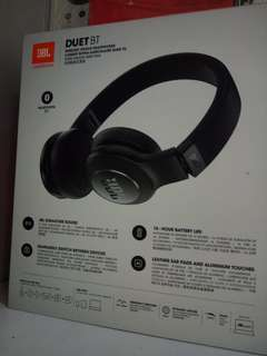 JBL DUET BT Wireless On-Ear Headphones