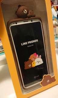 S9+ 電話殼(Line friends)(新的 沒用過)