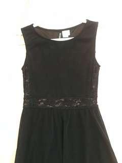 HM- High-Low Lace Dress