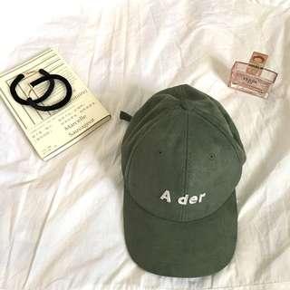 🚚 綠色鴨舌帽