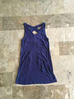 BNEW Mango Navy blue Dress