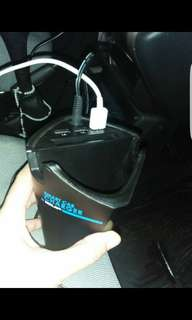 Smart car fast charger